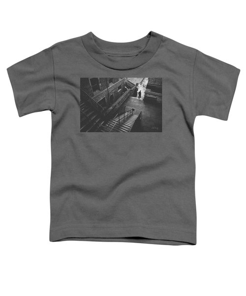 In Pursuit Of The Devil On The Stairs Toddler T-Shirt by Joseph Westrupp