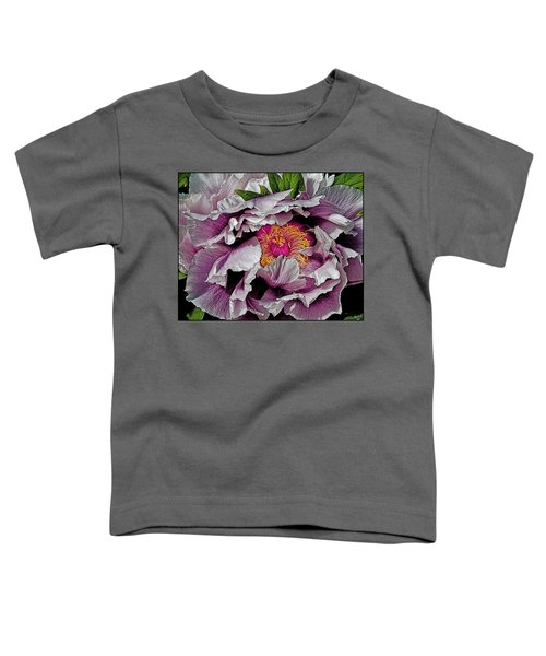 In The Eye Of The Peony Toddler T-Shirt