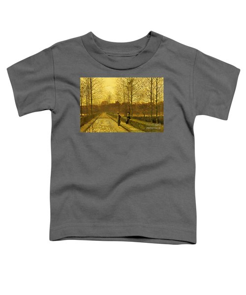 In The Golden Gloaming Toddler T-Shirt