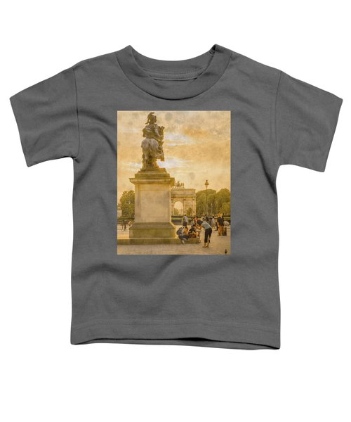 Paris, France - In The Shadow Of Glory Toddler T-Shirt