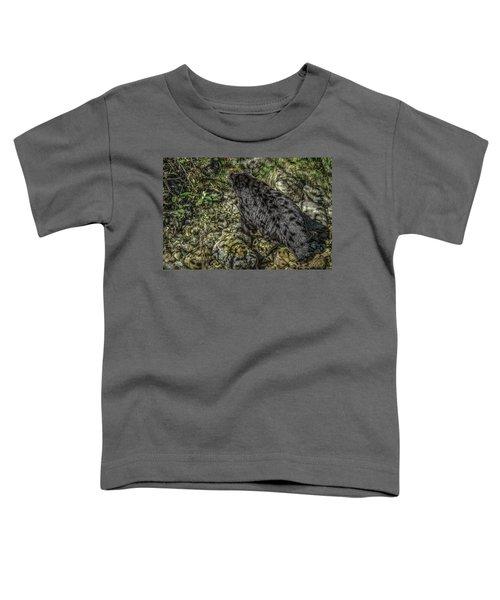 In The Shadows Black Bear Toddler T-Shirt