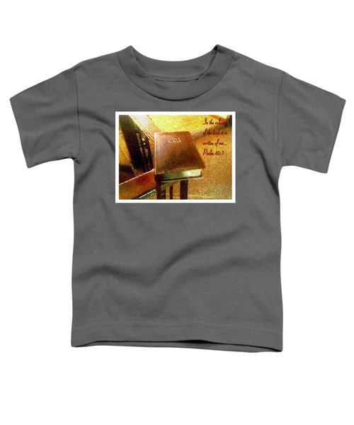 In The Volume Of The Book Toddler T-Shirt
