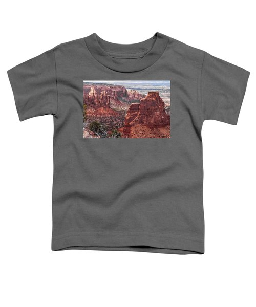 Independence Monument At Colorado National Monument Toddler T-Shirt