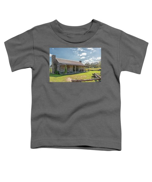 Independence Texas Cabin Toddler T-Shirt