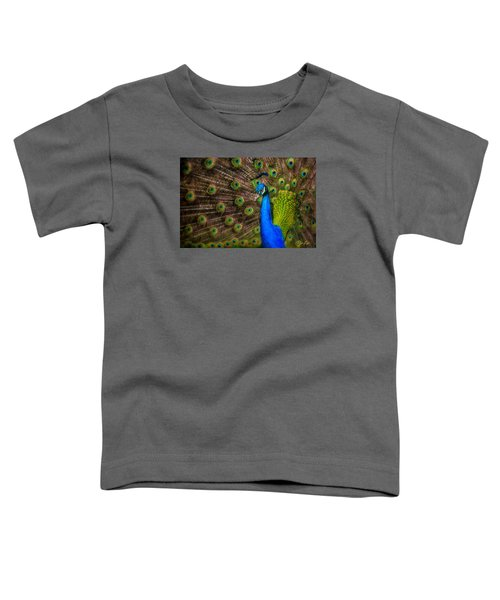 Toddler T-Shirt featuring the photograph India Blue by Rikk Flohr