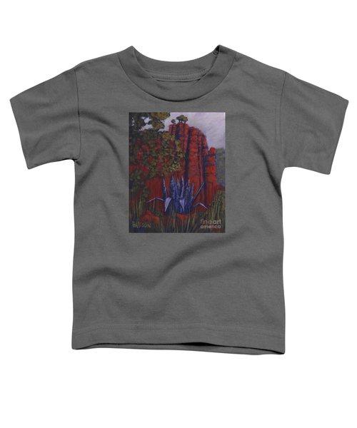 Indian Lodge Courtyard Fort Davis, Tx Toddler T-Shirt