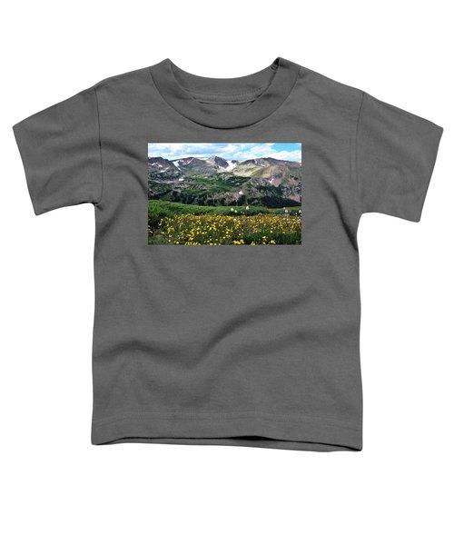 Indian Peaks Wilderness Toddler T-Shirt