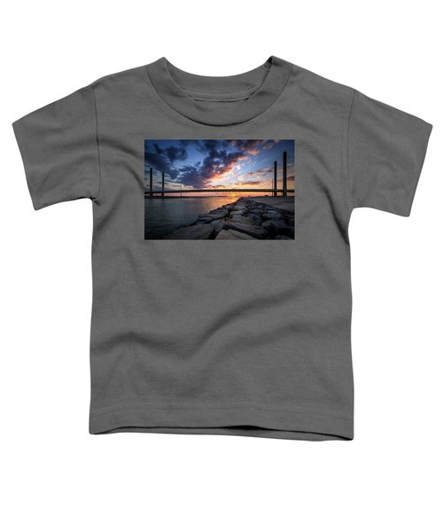 Indian River Inlet And Bay Sunset Toddler T-Shirt