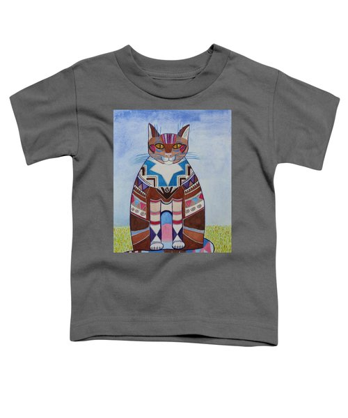 Indian Squirrel Cat Toddler T-Shirt