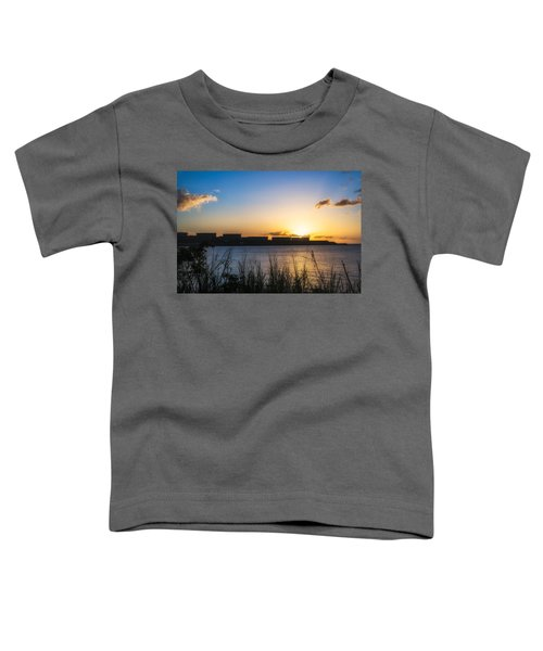 Industrial Sunset Toddler T-Shirt