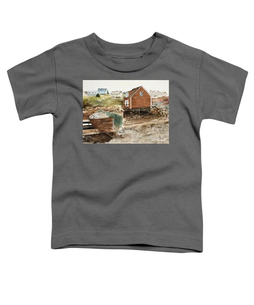 Inlet At Peggy's Cove Toddler T-Shirt