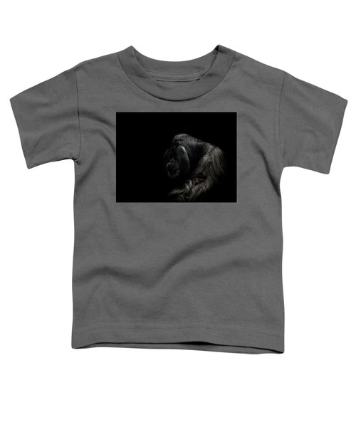 Insecurity Toddler T-Shirt by Paul Neville