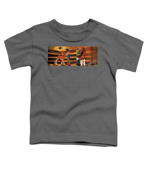 Inside The Barn Toddler T-Shirt
