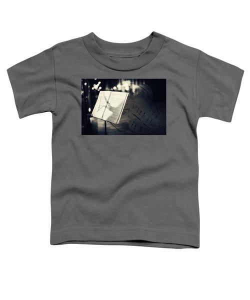 Inspiring Music Of The Night Streets Toddler T-Shirt