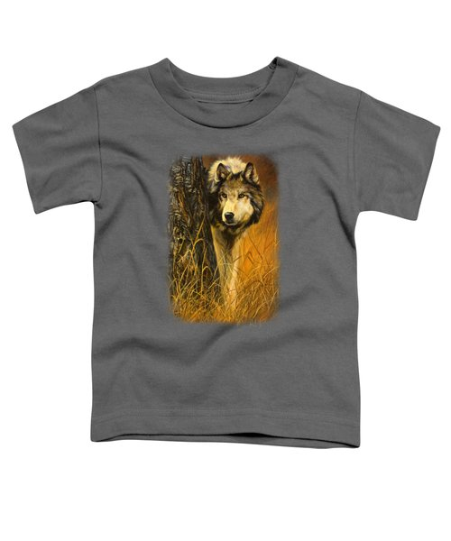Interested Toddler T-Shirt by Lucie Bilodeau