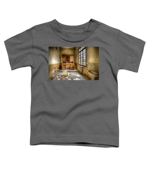Interior Furniture Atmosphere Of Abandoned Places Dig Paint Toddler T-Shirt