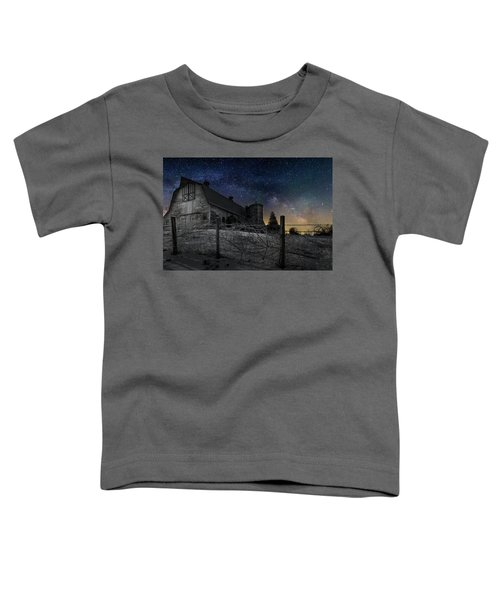 Toddler T-Shirt featuring the photograph Interstellar Farm by Bill Wakeley