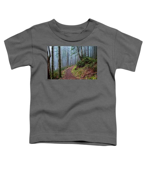Into The Misty Forest Toddler T-Shirt