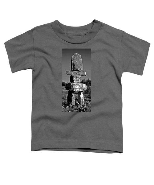 Inukshuk Toddler T-Shirt