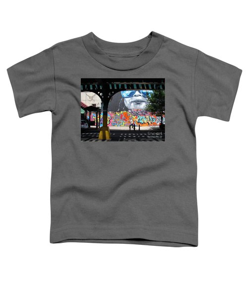 Inwood Street Art  Toddler T-Shirt by Cole Thompson