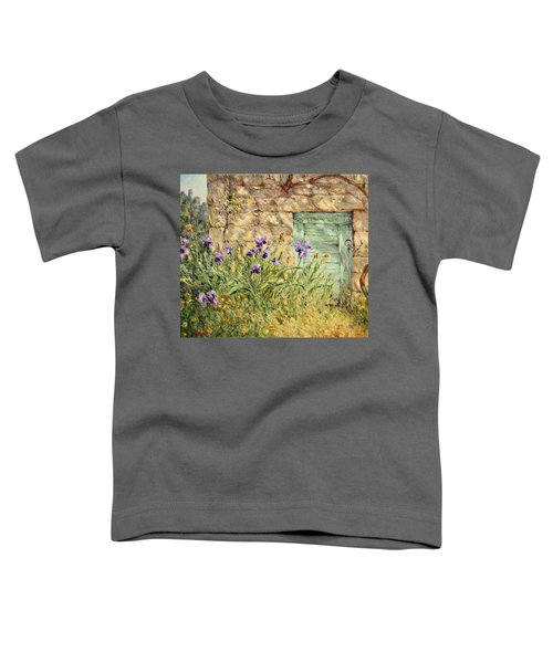 Irises At The Old Barn Toddler T-Shirt
