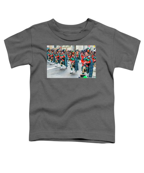 St. Patrick Day Parade In New York Toddler T-Shirt