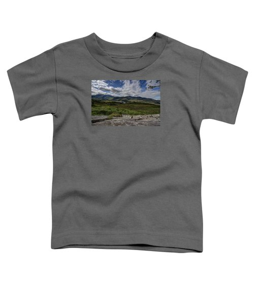 Irish Sky - Wicklow Mountains Toddler T-Shirt