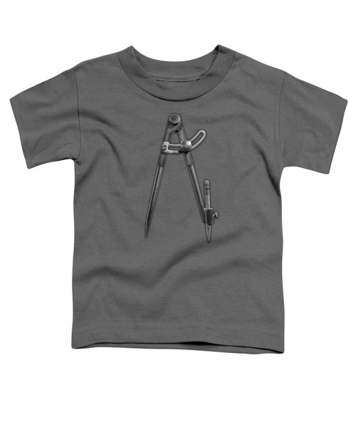 Iron Compass In Bw Toddler T-Shirt