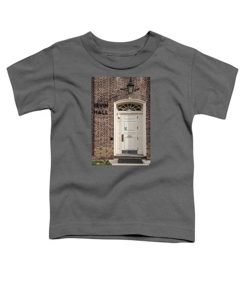 Irvin Hall Penn State  Toddler T-Shirt by John McGraw