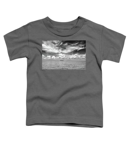 Island, Clouds, Sky, Water Toddler T-Shirt