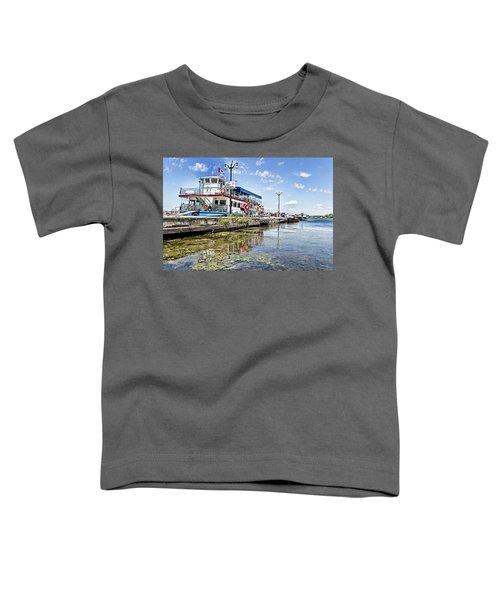 Island Princess At Harbour Dock Toddler T-Shirt