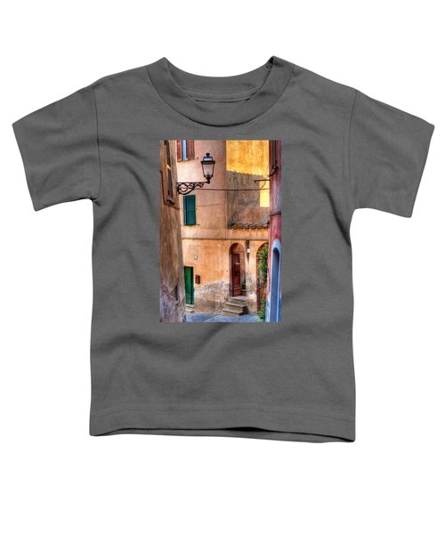 Italian Alley Toddler T-Shirt by Silvia Ganora