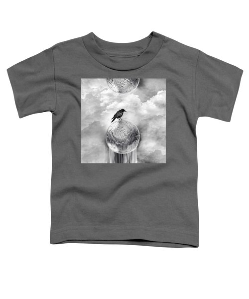 It's A Crow's World Toddler T-Shirt