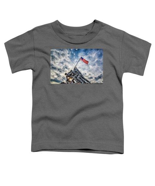 Iwo Jima Memorial Toddler T-Shirt