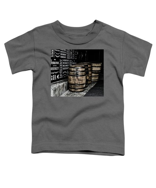 Jack Daniel's Tennessee Whiskey Barrels Toddler T-Shirt