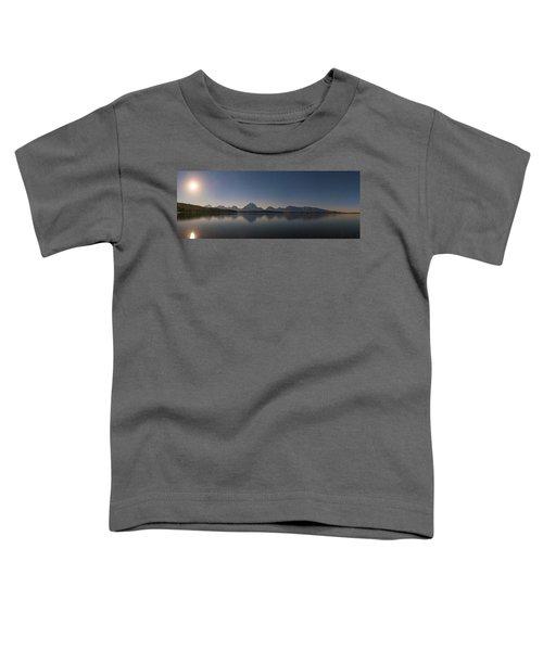 Jackson Lake Moon Toddler T-Shirt