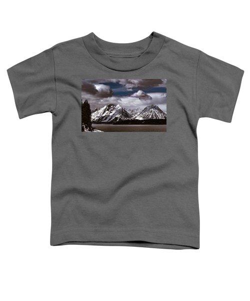 Jackson Lake Peaks Toddler T-Shirt