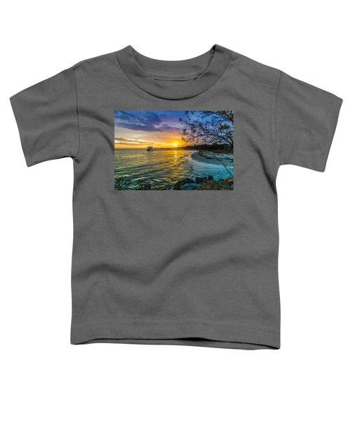 James Island Sunrise - Melton Peter Demetre Park Toddler T-Shirt