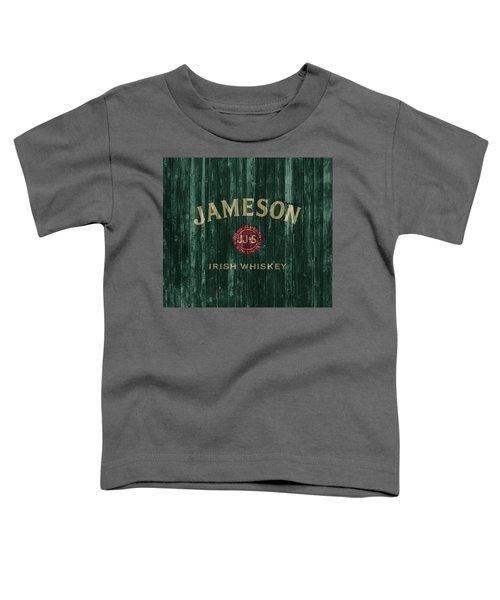 Jameson Irish Whiskey Barn Door Toddler T-Shirt