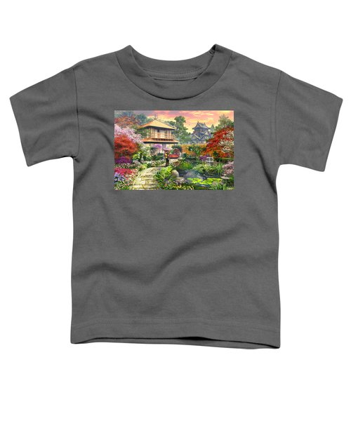 Japan Garden Variant 2 Toddler T-Shirt