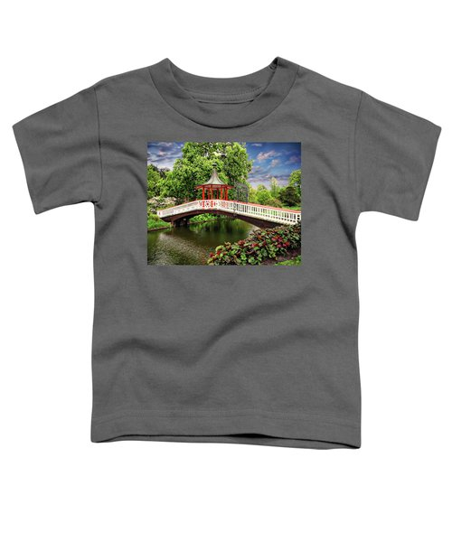 Japanese Bridge Garden Toddler T-Shirt
