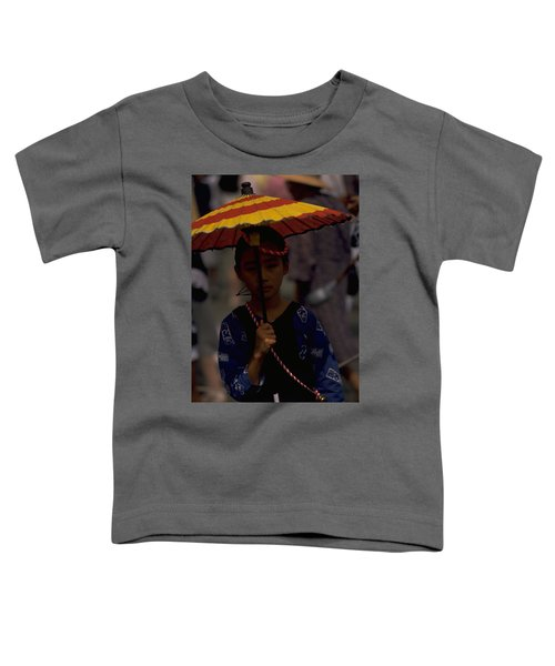 Toddler T-Shirt featuring the photograph Japanese Girl by Travel Pics