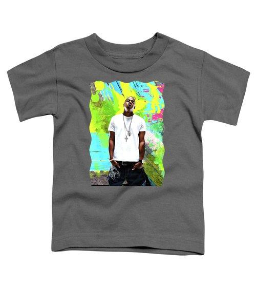Jay Z - Celebrity Art Toddler T-Shirt