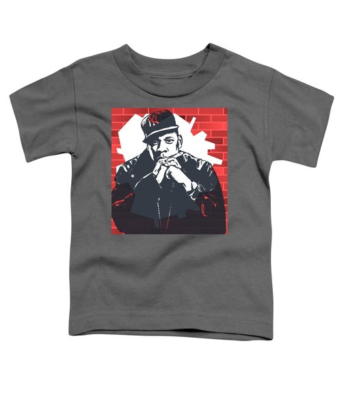 Jay Z Graffiti Tribute Toddler T-Shirt by Dan Sproul