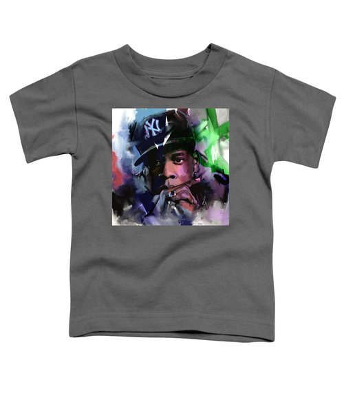 Jay Z Toddler T-Shirt by Richard Day