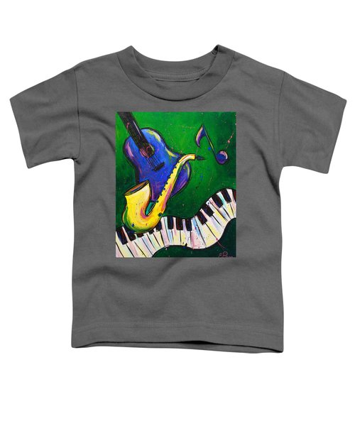 Jazz Time Toddler T-Shirt