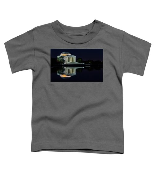 The Jefferson At Night Toddler T-Shirt