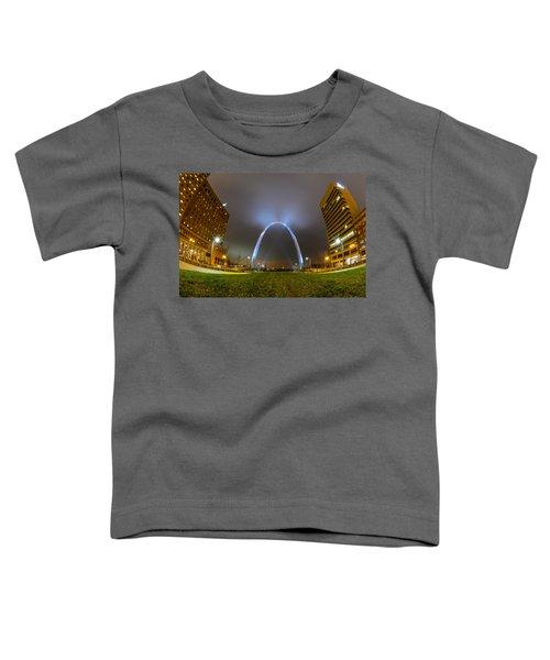 Jefferson Expansion Memorial Gateway Arch Toddler T-Shirt