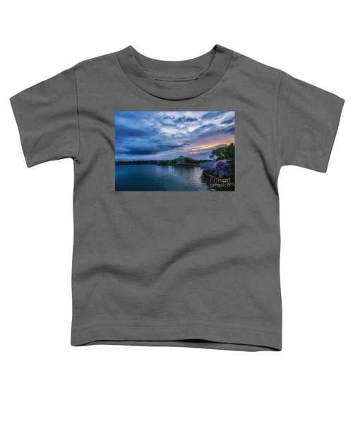 Jefferson Memorial Dawn Toddler T-Shirt
