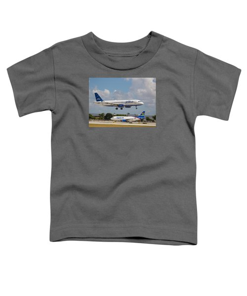 Jetblue Over Spirit Air Toddler T-Shirt